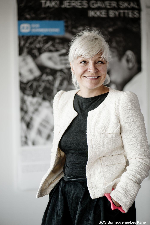 Signe Lindkvist Er Ambassadør For Sos Børnebyerne I 2012 Besøgte