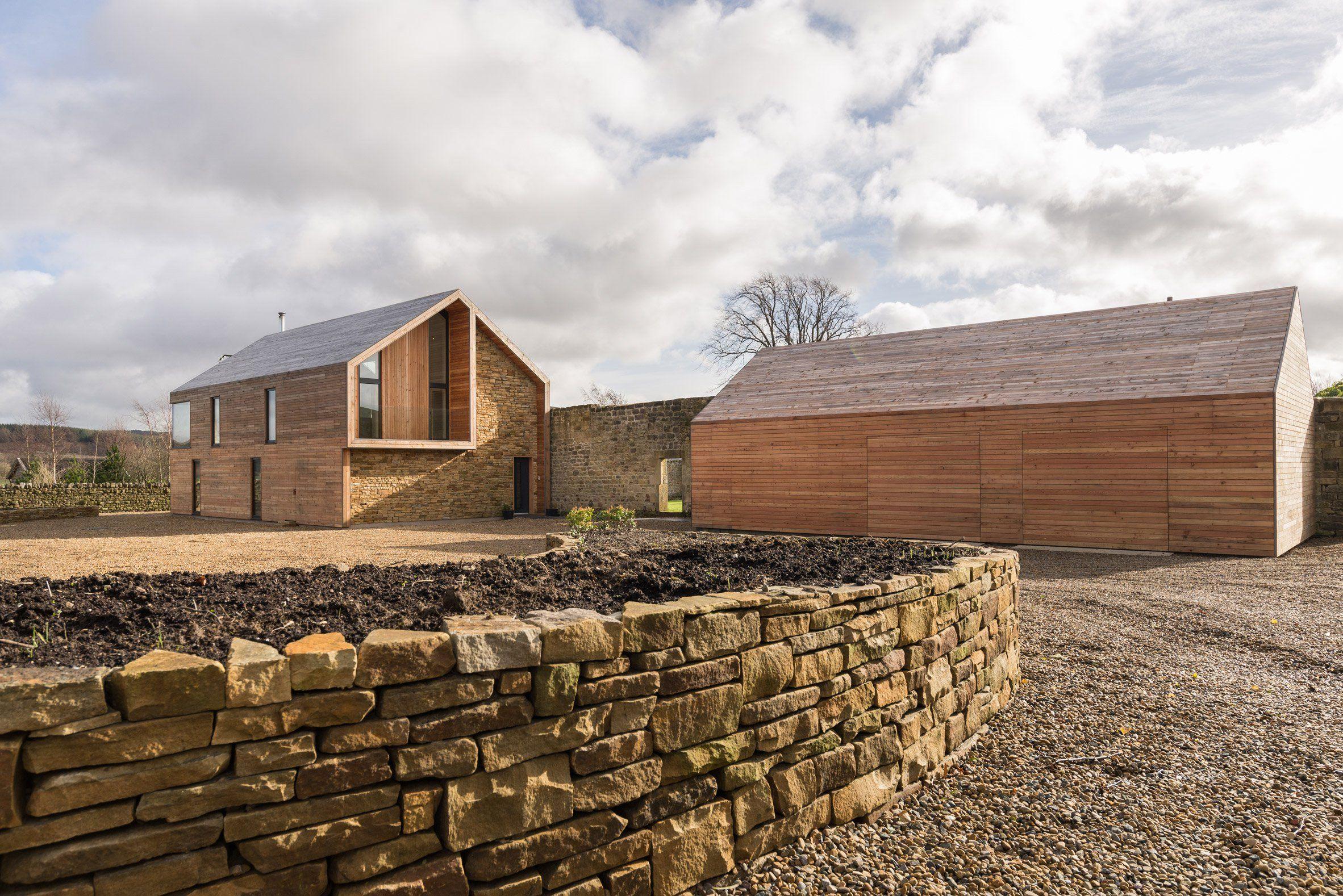 Richard Pender And Dan Kerr Combine Local Materials At Self Built House