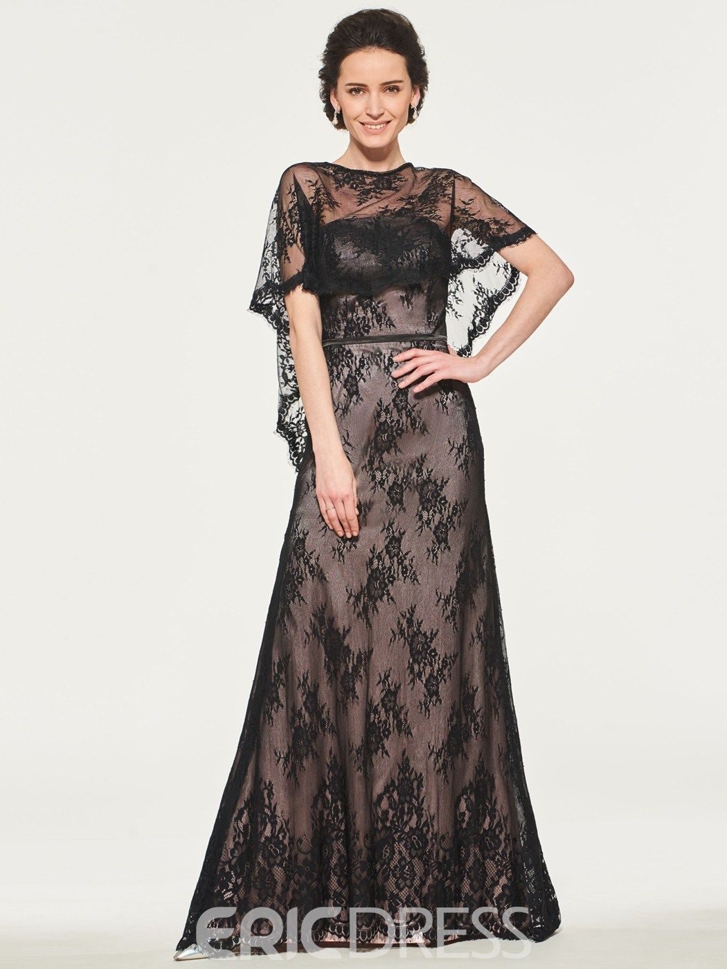 Black Lace Mother of the Bride Dress in 2020 Dress with