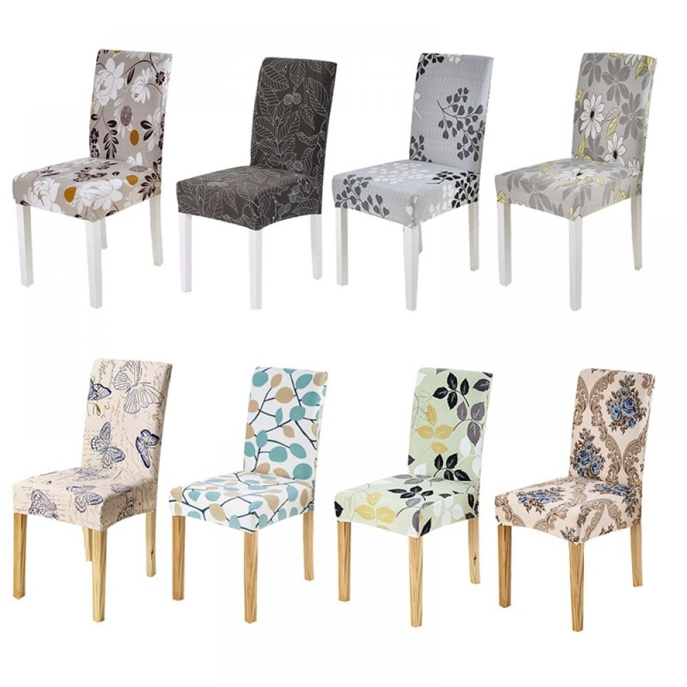Printed Elastic Chair Cover For Wedding Spandex Stretch Plaid Chair Cover For Banquet In 2020 Chair Covers Wedding Chair Covers Cheap Chair Covers
