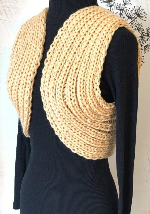 Easy Shrug Knitting Patterns | Shrug knitting pattern ...
