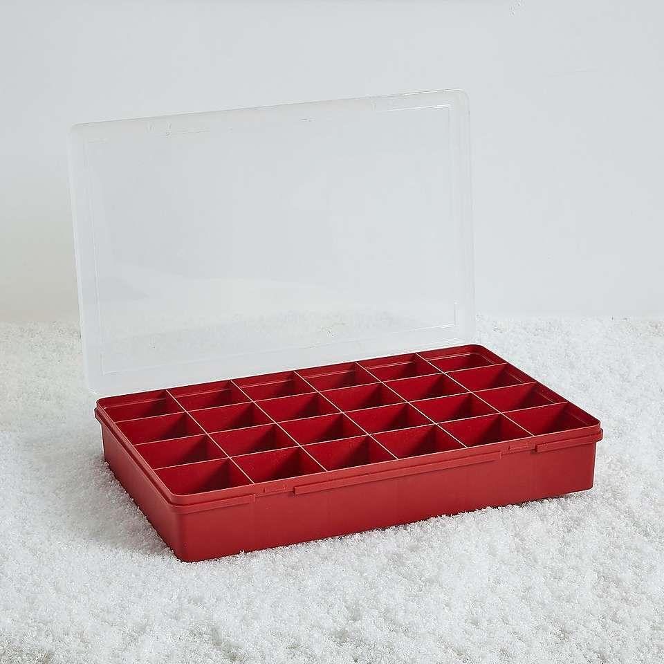 Bauble Compartment Storage Box Dunelm Storage Box Space Saving Storage Storage