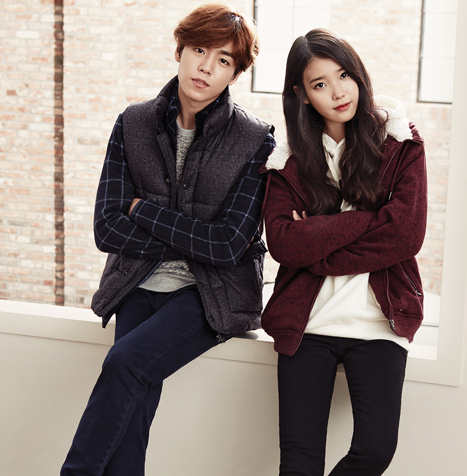 IU and Lee Hyun Woo are an adorable couple for UNIONBAY
