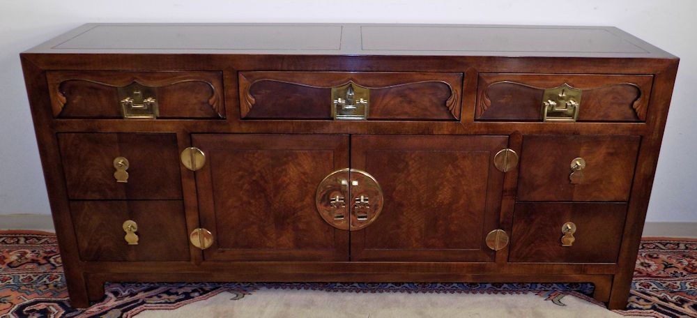 Henredon Furniture Folio 16 Imperial Credenza Asian Chinese ...