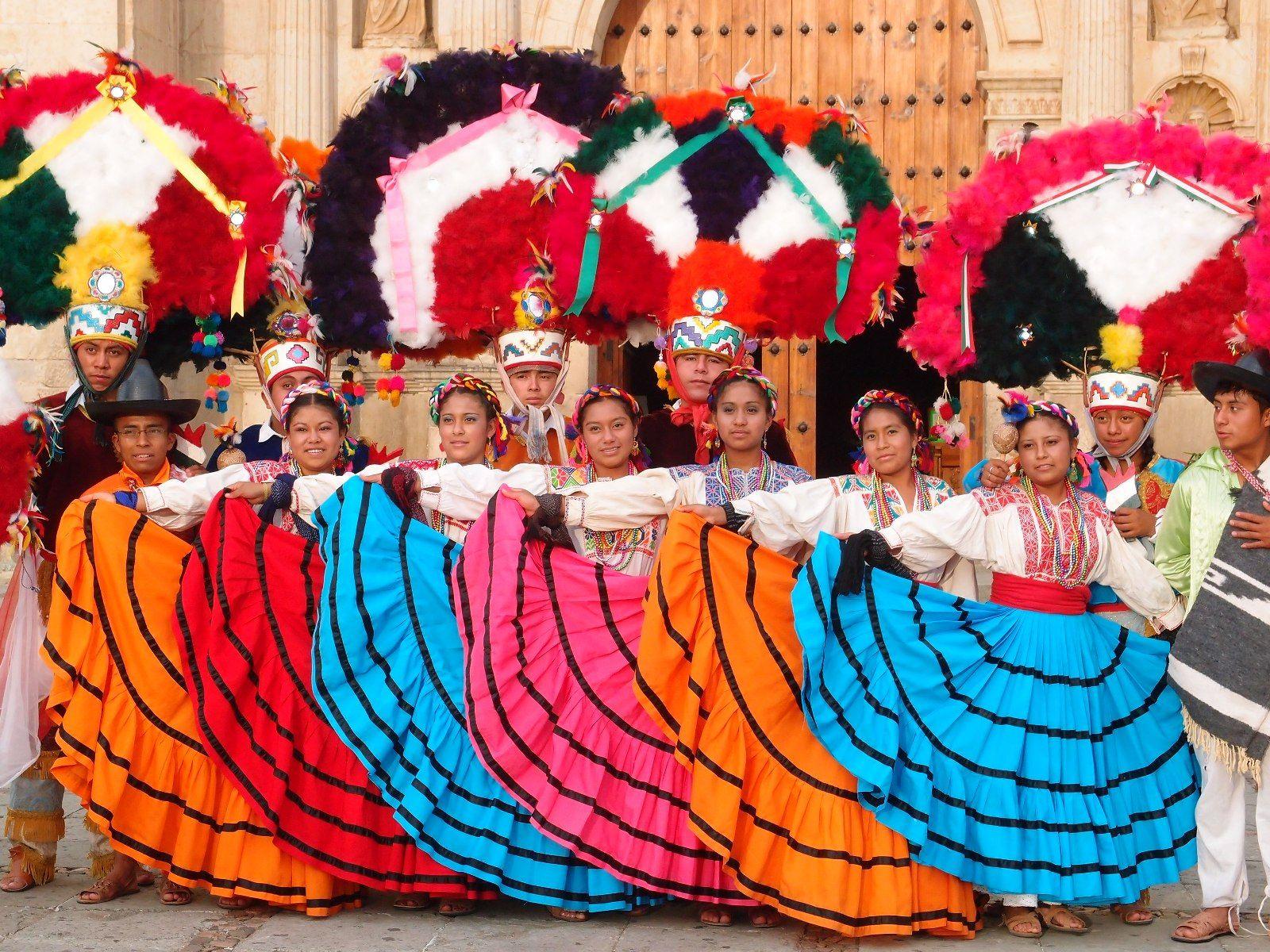 Dancers in Oaxaca, Mexico