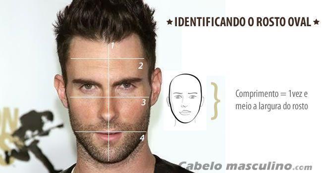 a625c0df0 métrica para identificar o formato de rosto oval | rosto in 2019 ...