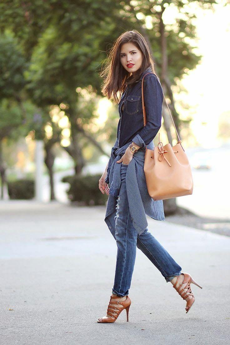 Bucket Bag: Street style
