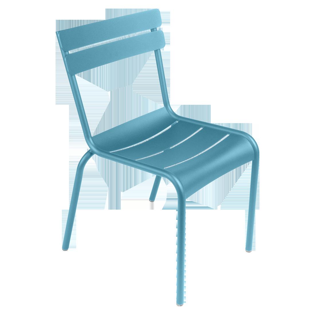 Chaise Luxembourg De Fermob Jardin En Aluminium Confortable Et Trs Rsistante Empilable Avec Patins Silence