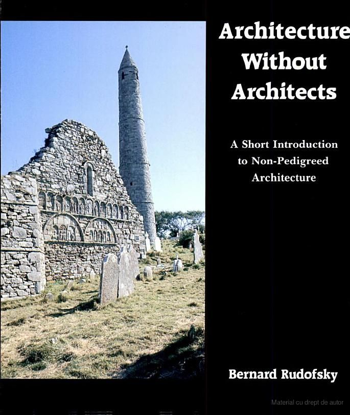 Architecture Without Architects A Short Introduction to