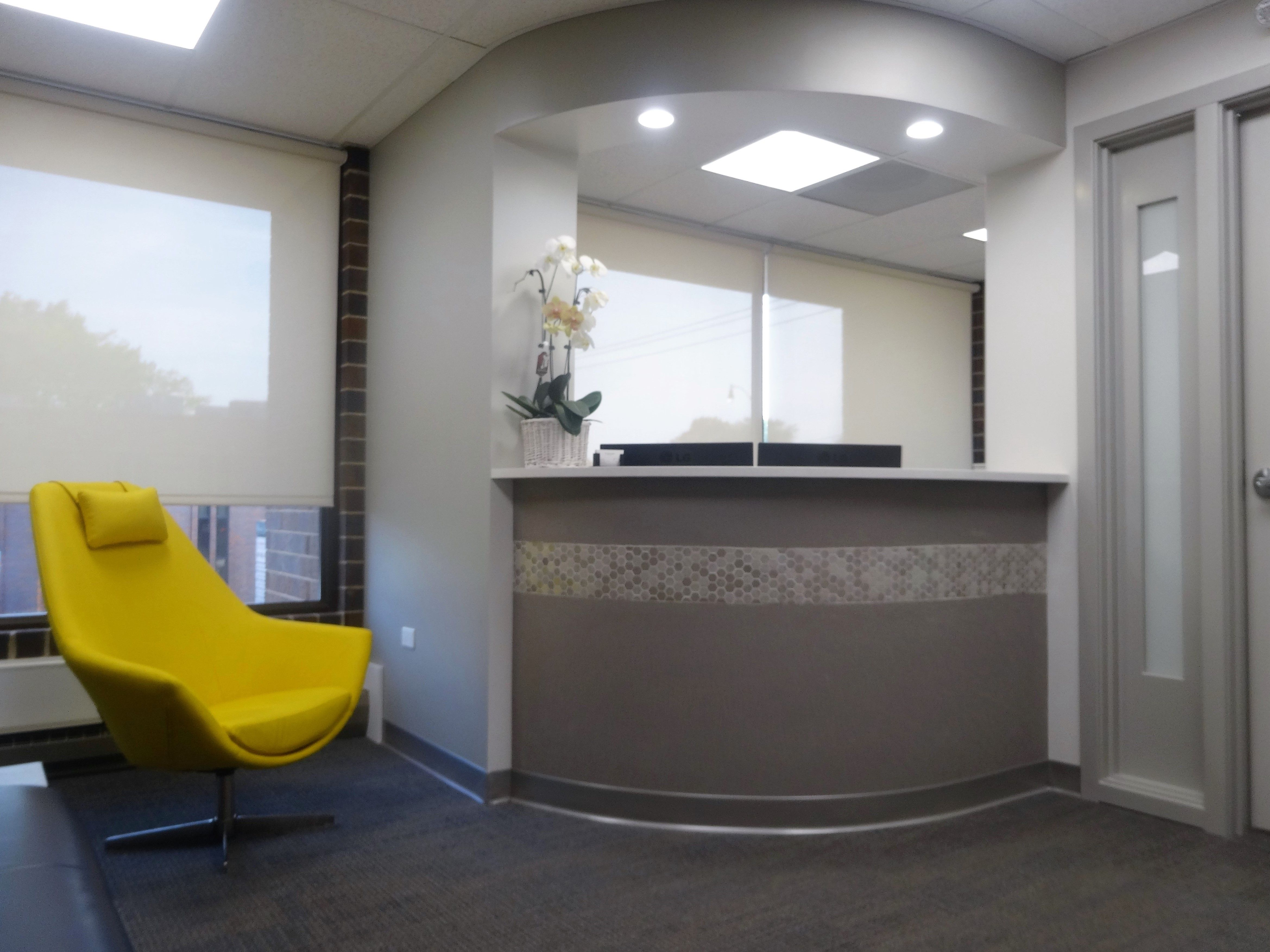 Dental studio designed by Apex Team for Kampfer Dental Studio. It includes  Design and Construction