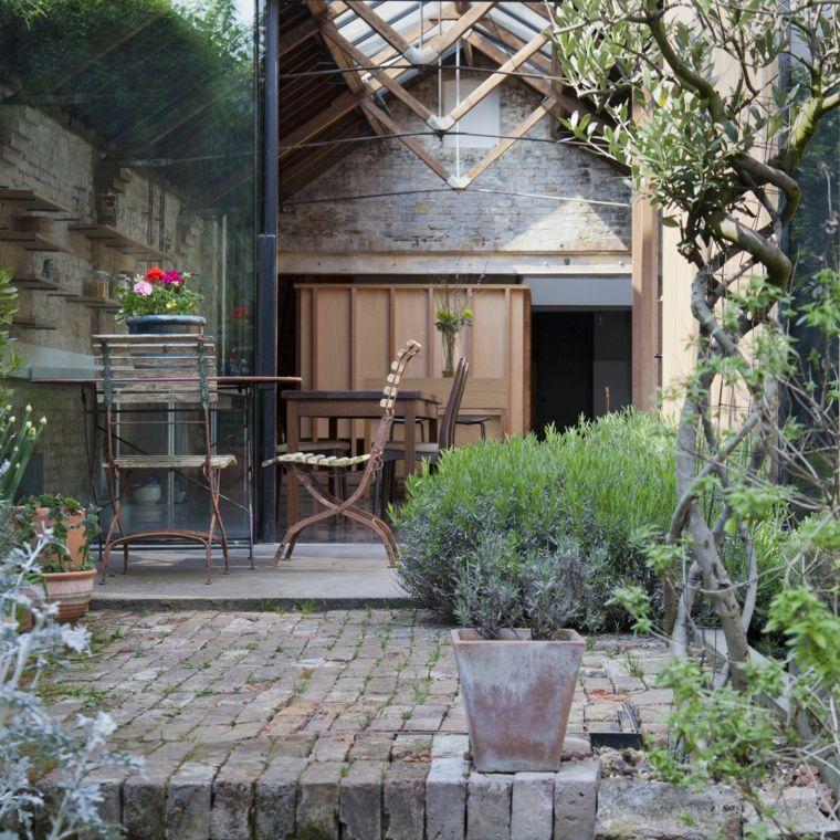 Ideas para decorar un jardín rústico - ¿Cómo realizar un diseño de ...