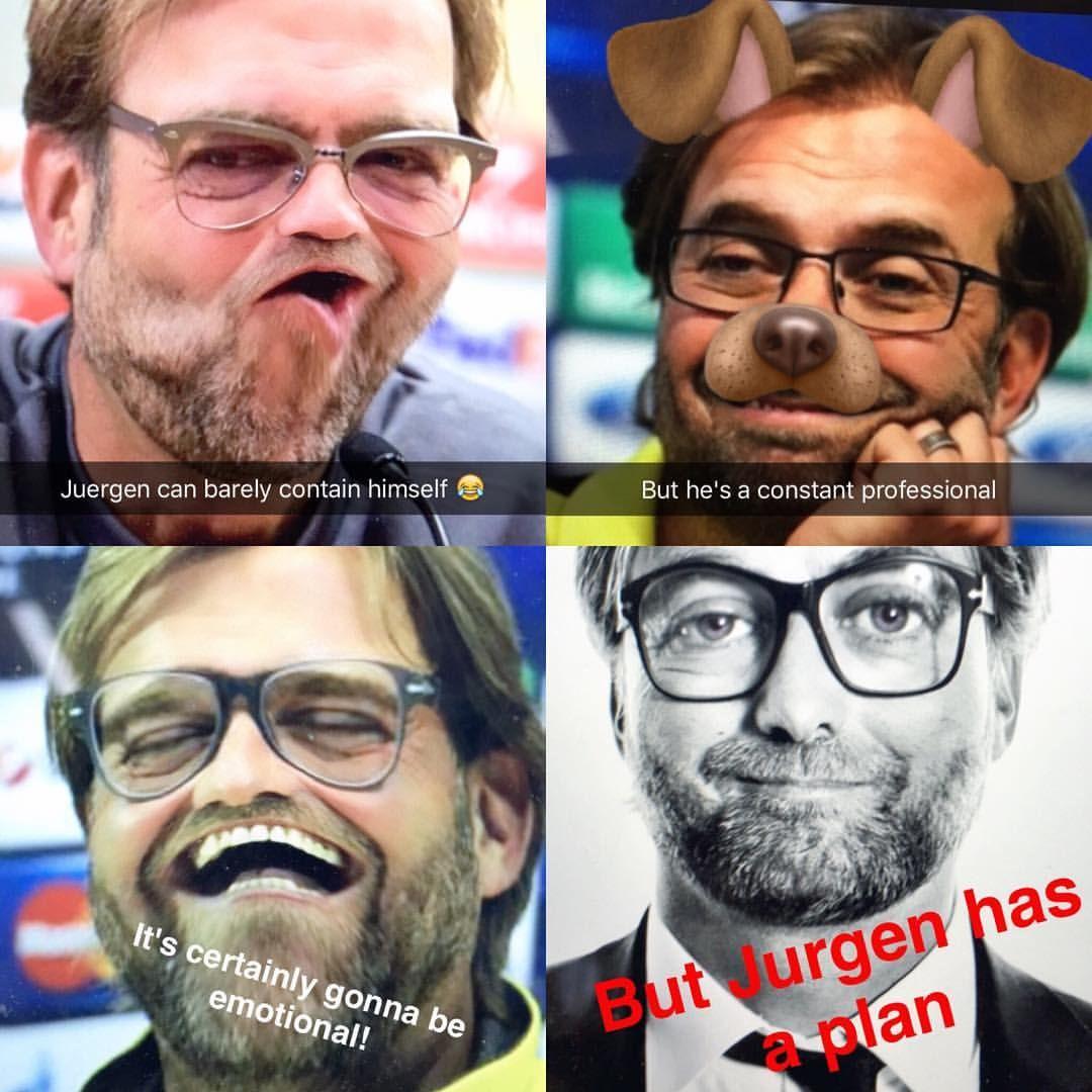 Head over to our Snapchat now for some hilarious Jurgen Klopp filters  ADD: 'dreamteamfc' #snapchat #dreamteamfc #liverpoolfc #lfc #liverpool #jurgenklopp #jurgen #klopp #borussiadortmund #bvb #europaleague #uel #snapchatadd