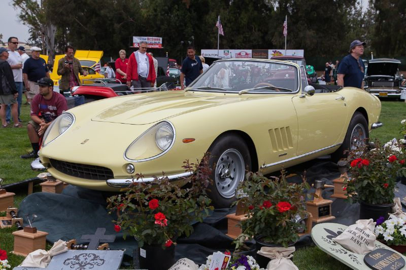 Photo Gallery And Report From The Friends Of Steve McQueen Car Show - Chino hills car show