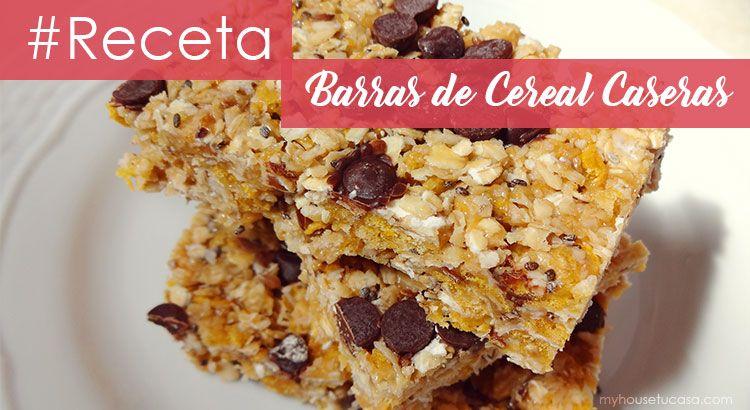 Barras De Cereal Caseras Myhousetucasa Com Barra De Cereal Casera Barra De Cereal Cereal Casero