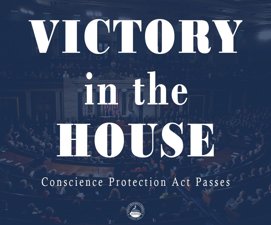 VICTORY The United States House of Representatives passed