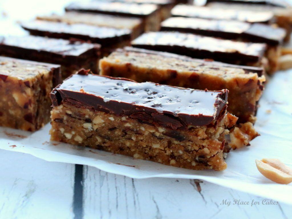 Dadel Og Peanutbarer Sunde Snickers My Place For Cakes Sundtslik Snacks Food Yummy Snacks