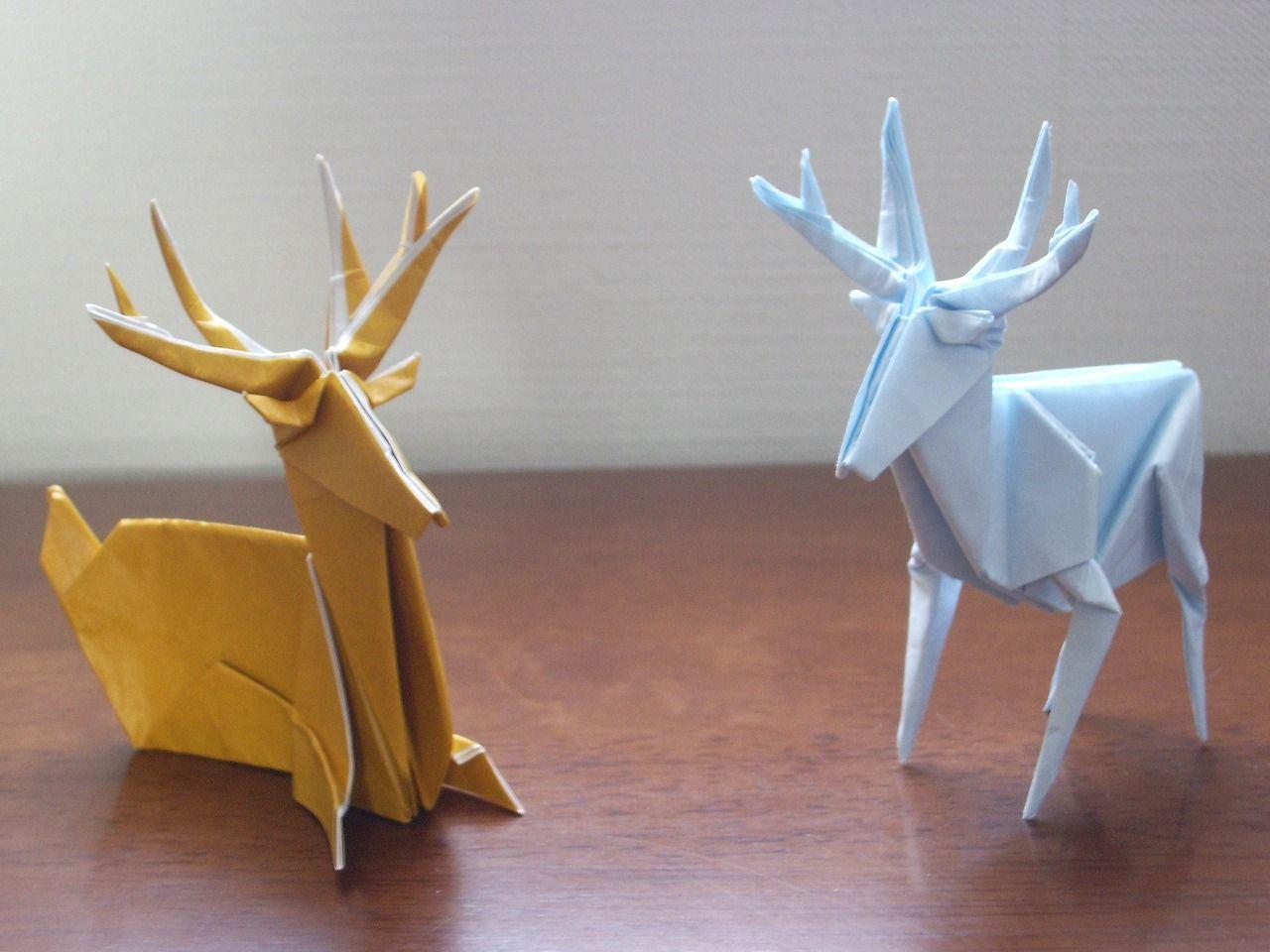 katakoto origami  deer