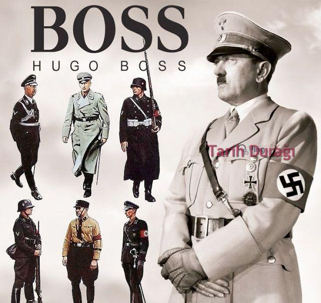 Populaire Hugo Boss Hitler | History of Germany | Pinterest | Hugo boss CO37