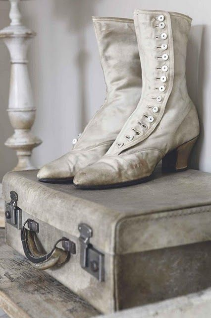 Love the boots....love the suitcase.  I'm using suitcases now for all my sons little toys that end up everywhere.