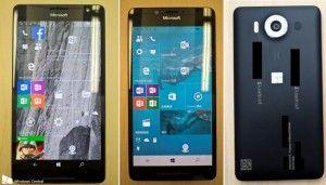 Microsoft Lumia 950 And Lumia 950 XL Images Confirm Triple