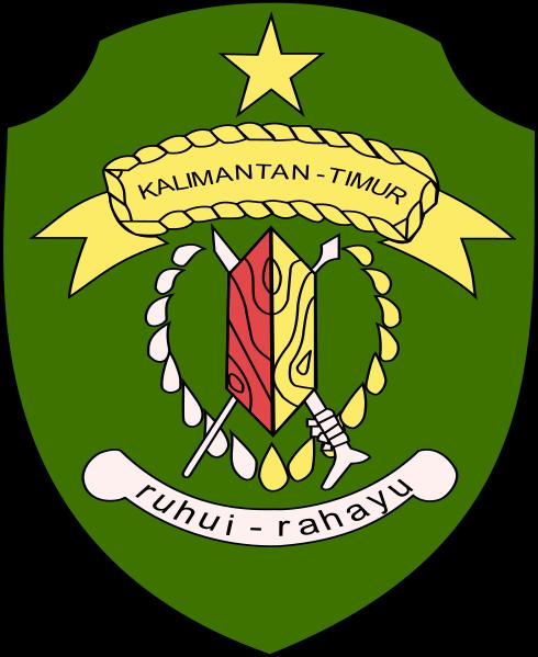 Berkas Coat Of Arms Of East Kalimantan Svg Wikipedia Bahasa Indonesia Ensiklopedia Bebas Kalimantan Indonesia