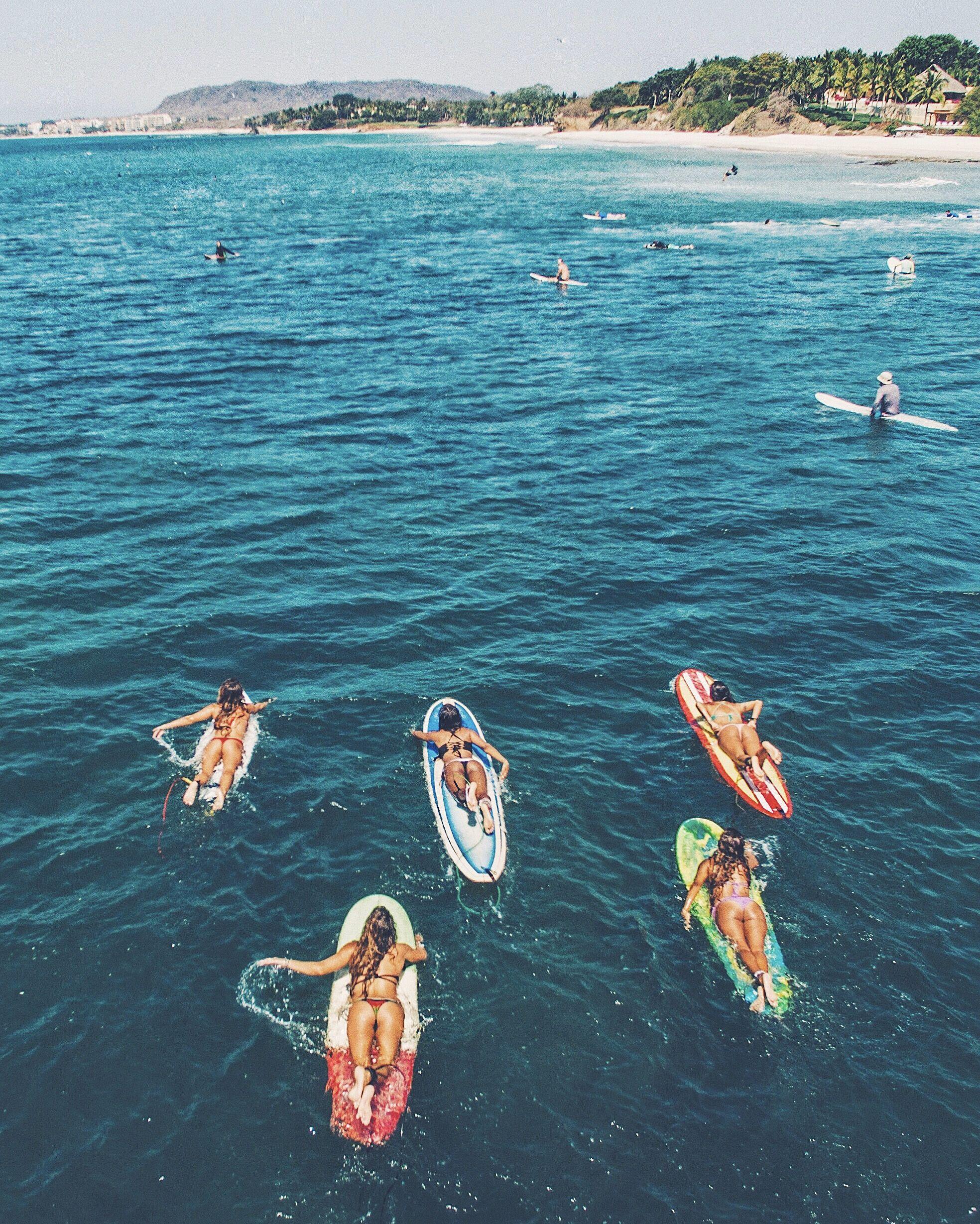 Surf S Up At Burros In Punta De Mita Mexico Surf Trip Surfing Surf City