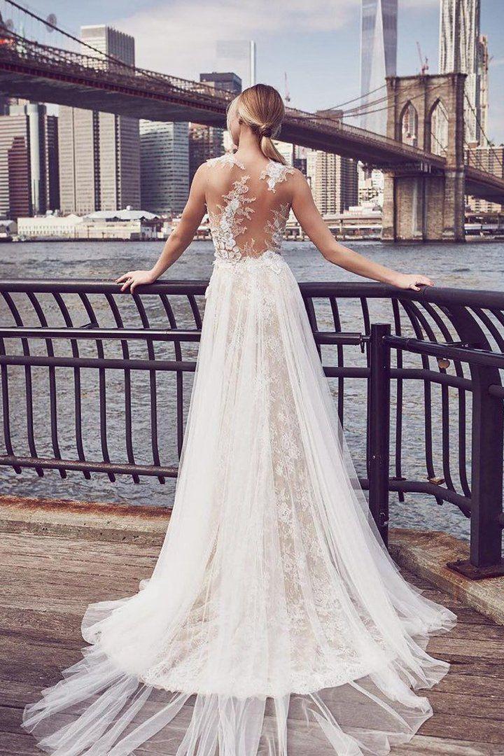 size 40 e6c13 db738 23 Hochzeitskleider, die beweisen: Ein schöner Rücken kann ...