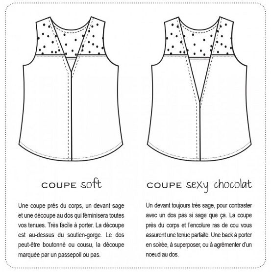 modele couture debardeur
