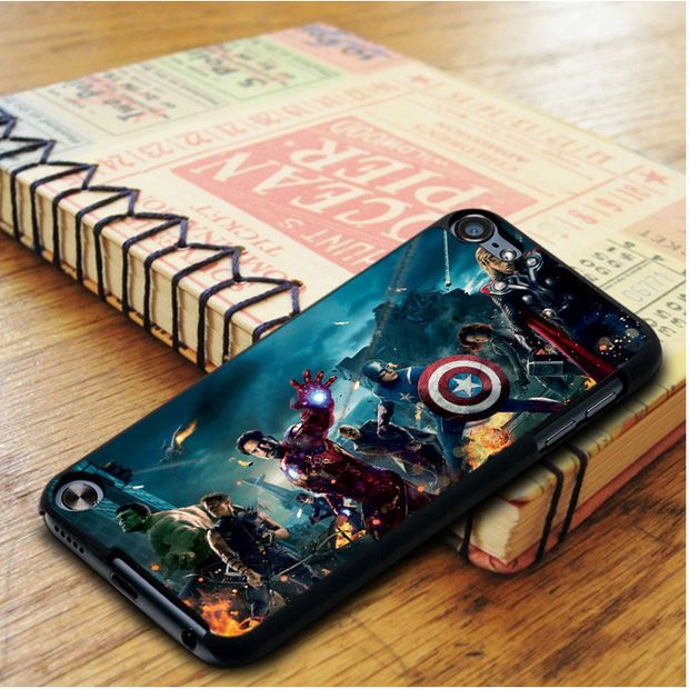 online store 04e11 d53ce The Avengers Marvel iPod Touch 5 Case   Cases I want   Ipod touch 6 ...