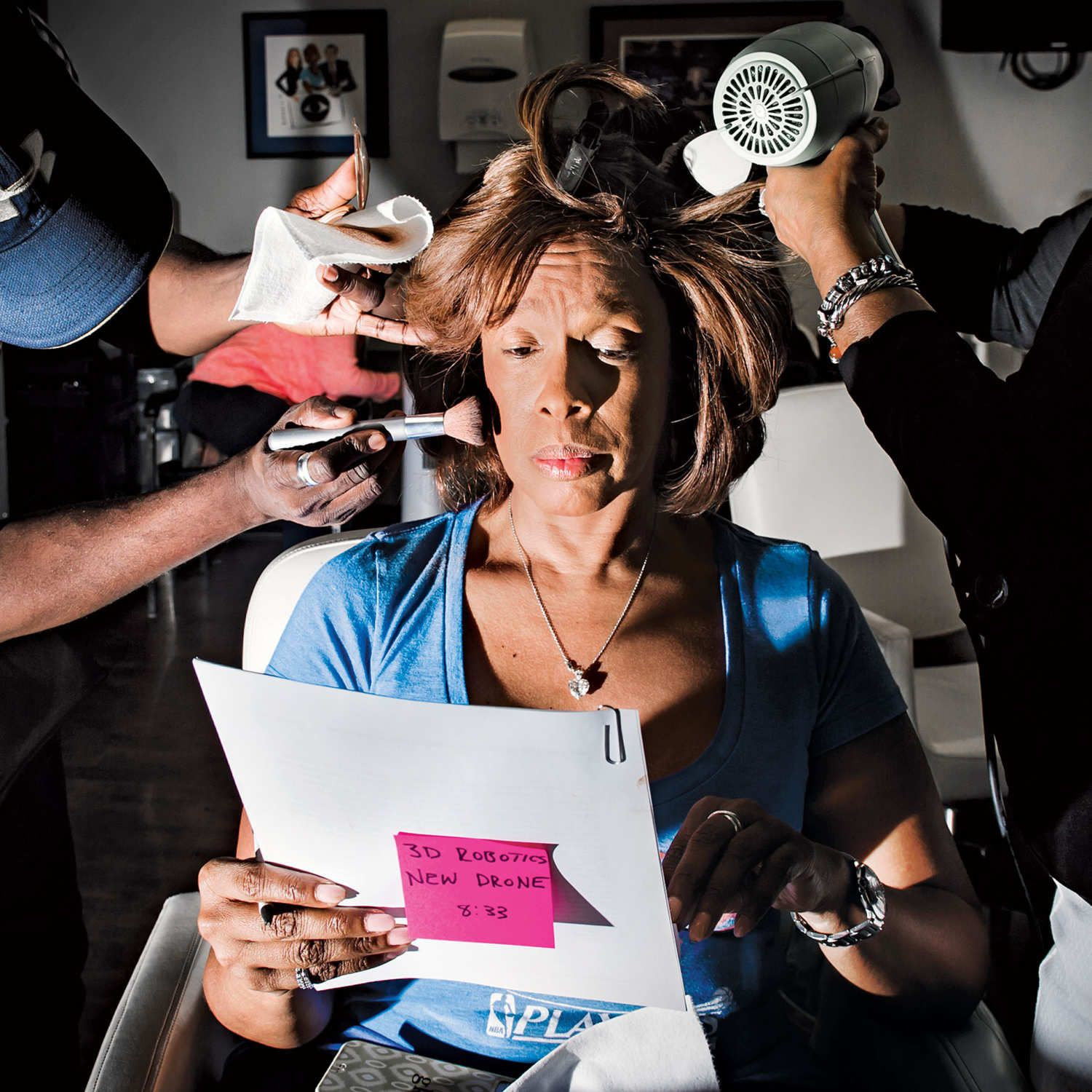 A Day in the Life of Gayle King 2 Jobs, 5 Outfits, and an