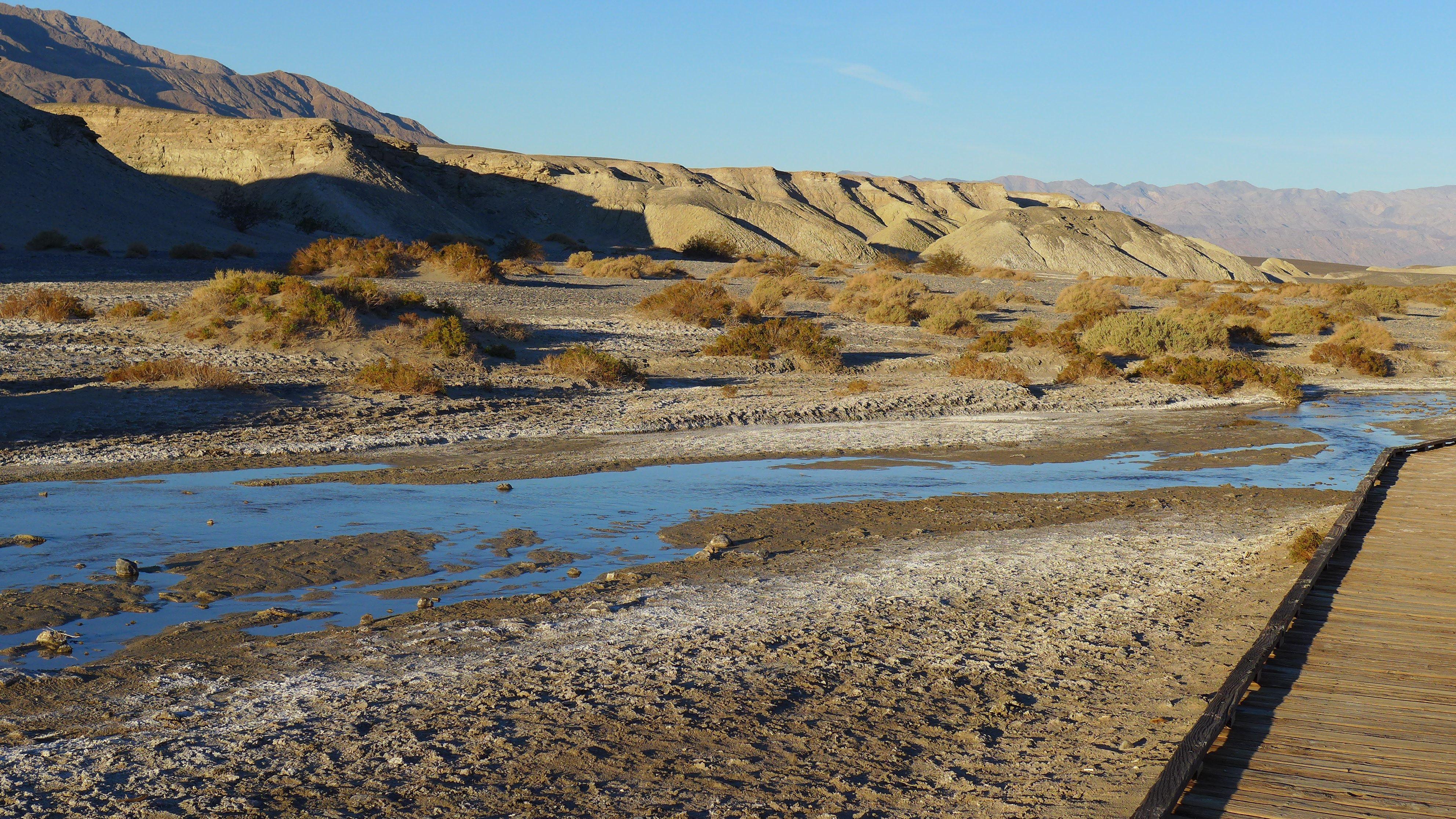 Death Valley, salt marshes. Photo by Adrienne Neff. www.adrienneneff.com