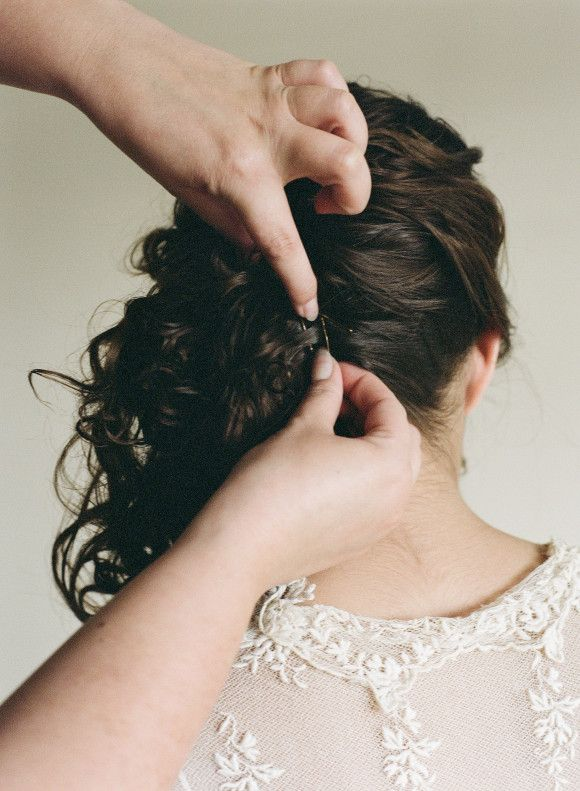 Wedding hair ideas via Wedding Sparrow blog #updotutorial