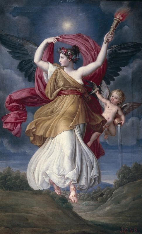 Eos Aurora Was The Greek Goddess Of The Dawn In Greek Mythology