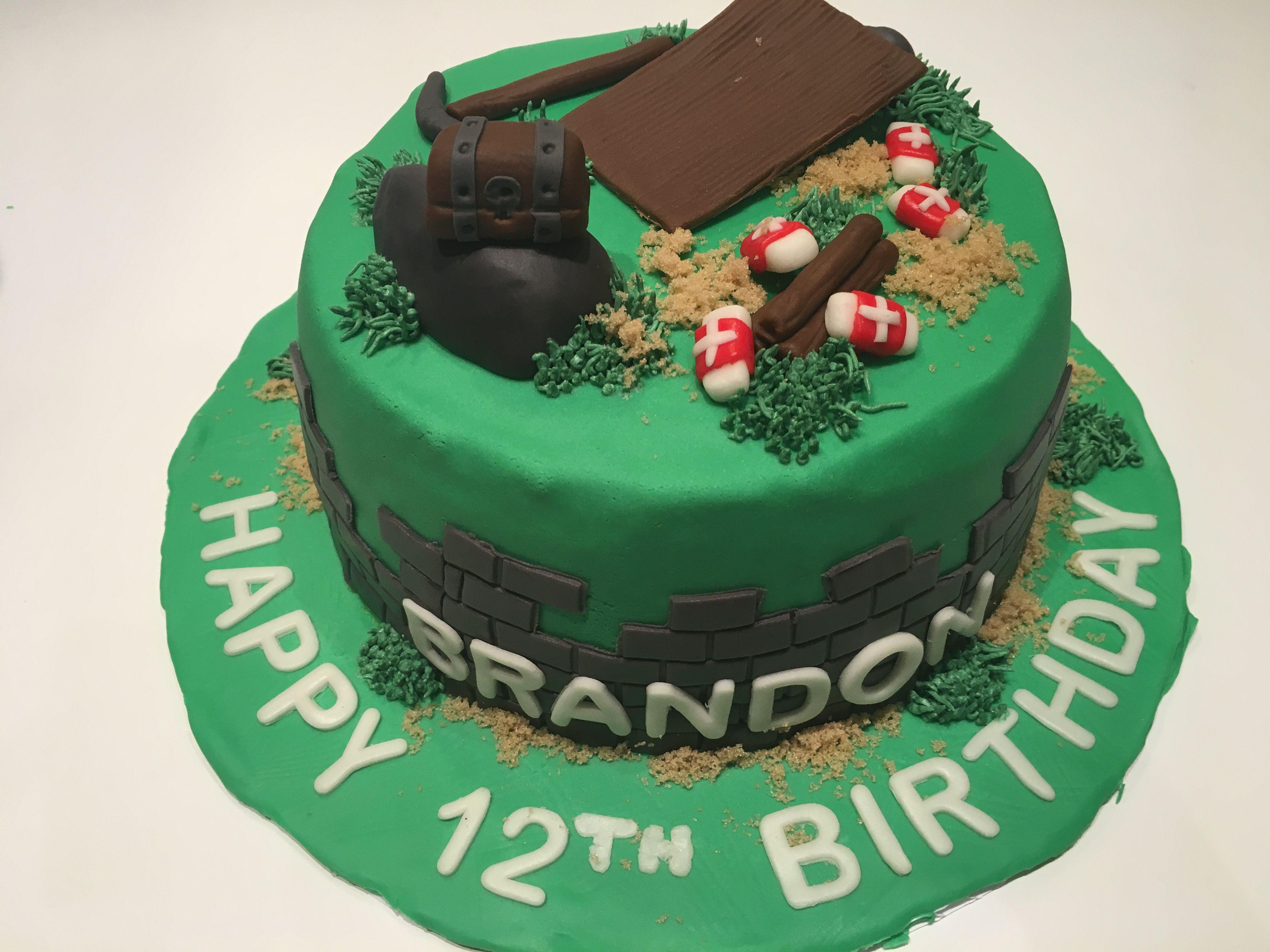 Fortnite Cake Video Game Cake Teenage Boy Birthday Cake