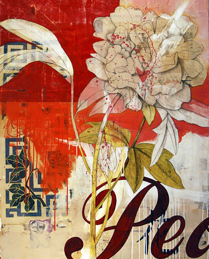 michael mew | mixed media botanical prints