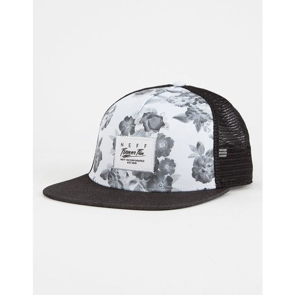 48887f2908e Neff Lois Womens Trucker Hat ( 24) ❤ liked on Polyvore featuring  accessories