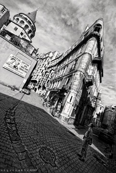 Galata Istanbul - ancient optics by oscarsnapshotter.deviantart.com