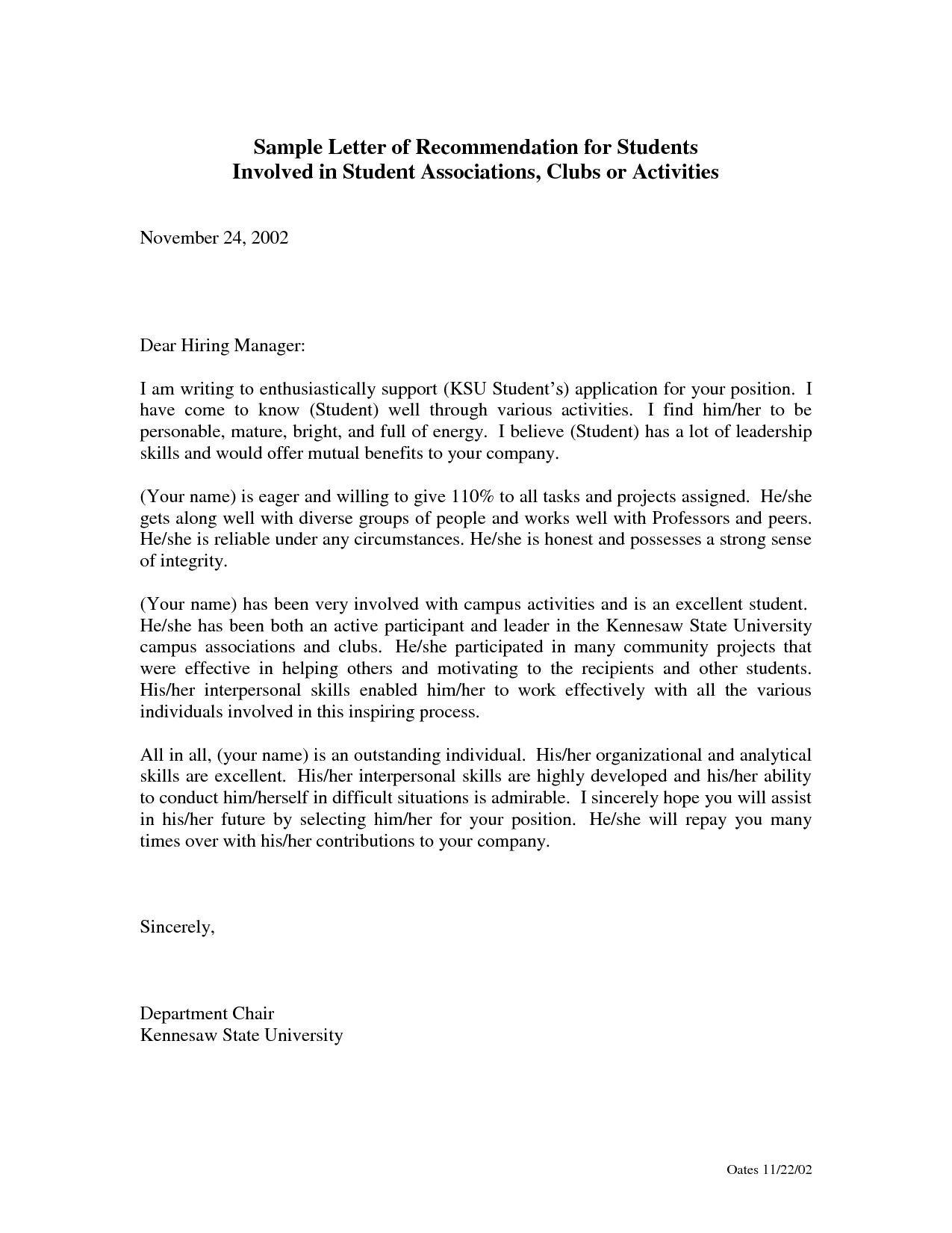 Image result for reference letter for a nursing student