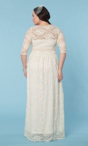 86d67aec9f41 Lace Illusion Wedding Gown
