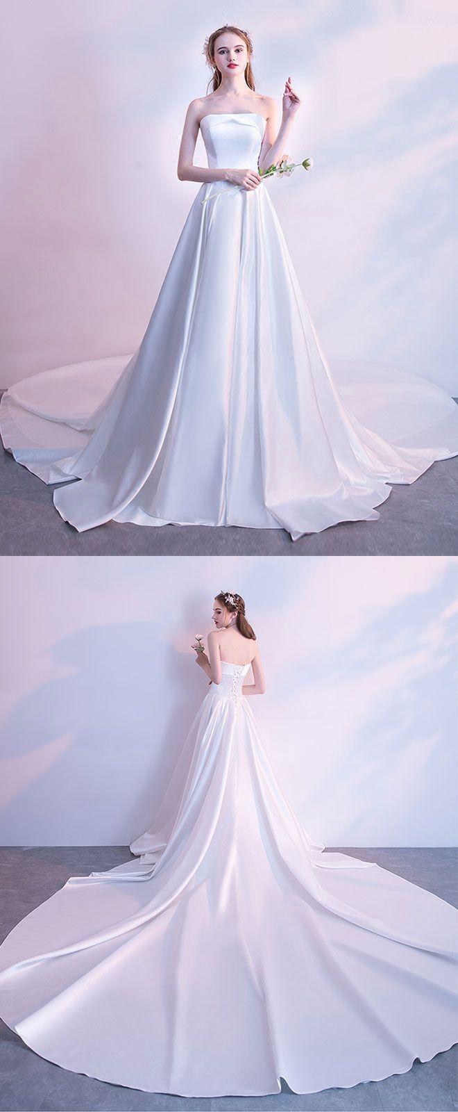 White long prom dress wedding dress pinterest white long prom