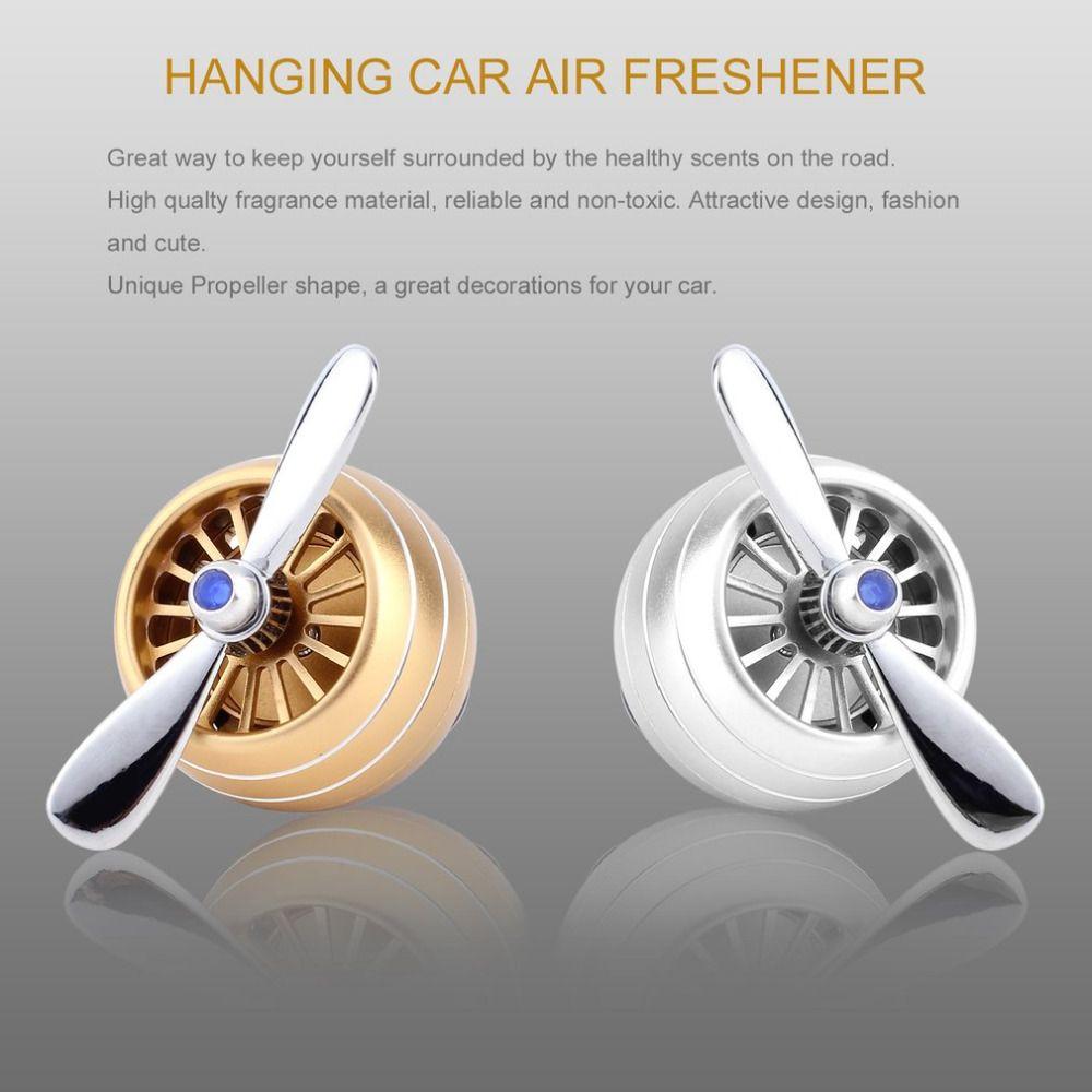 Auto Perfume Diffuser Propeller Shaped Air Freshener Vent Clip Car Unique Bathroom Air Freshener Design Ideas