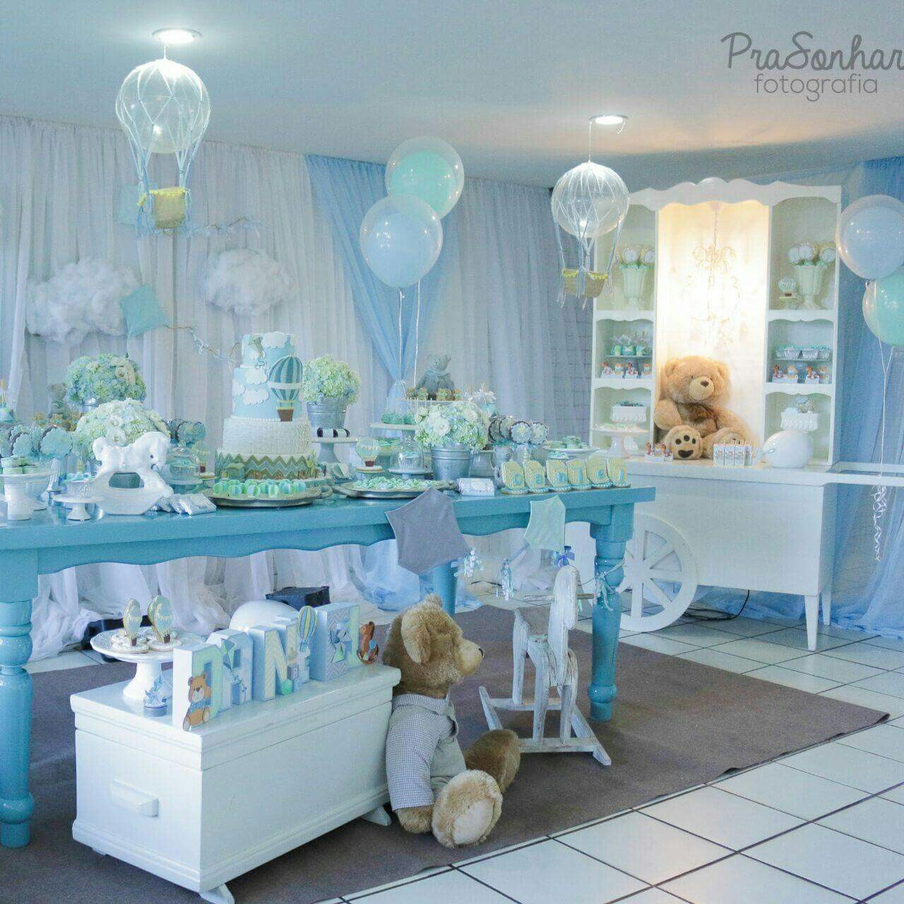 Decoracion Mesas Baby Shower Niño Pin By Franciny Menezes On Diversos T Baby Shower