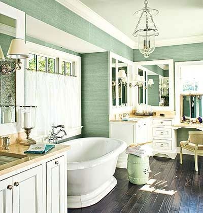master bathrooms - Rustic Chic Bathroom Decor