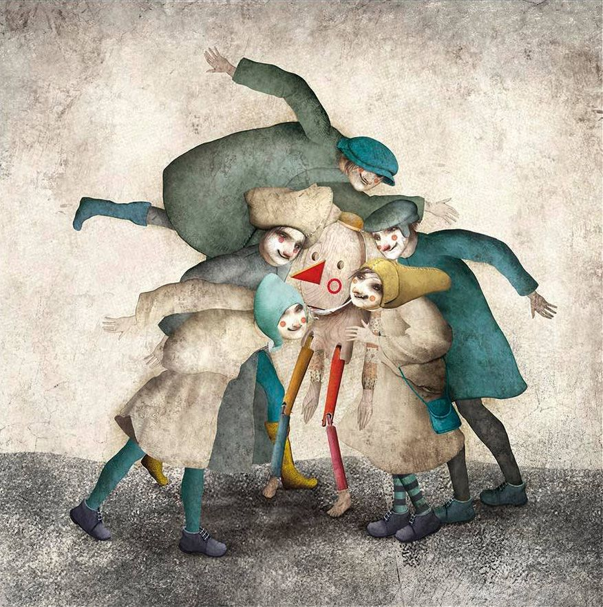 "Gabriel Pacheco «Las aventuras de Pinocho» | ""Картинки и ..."