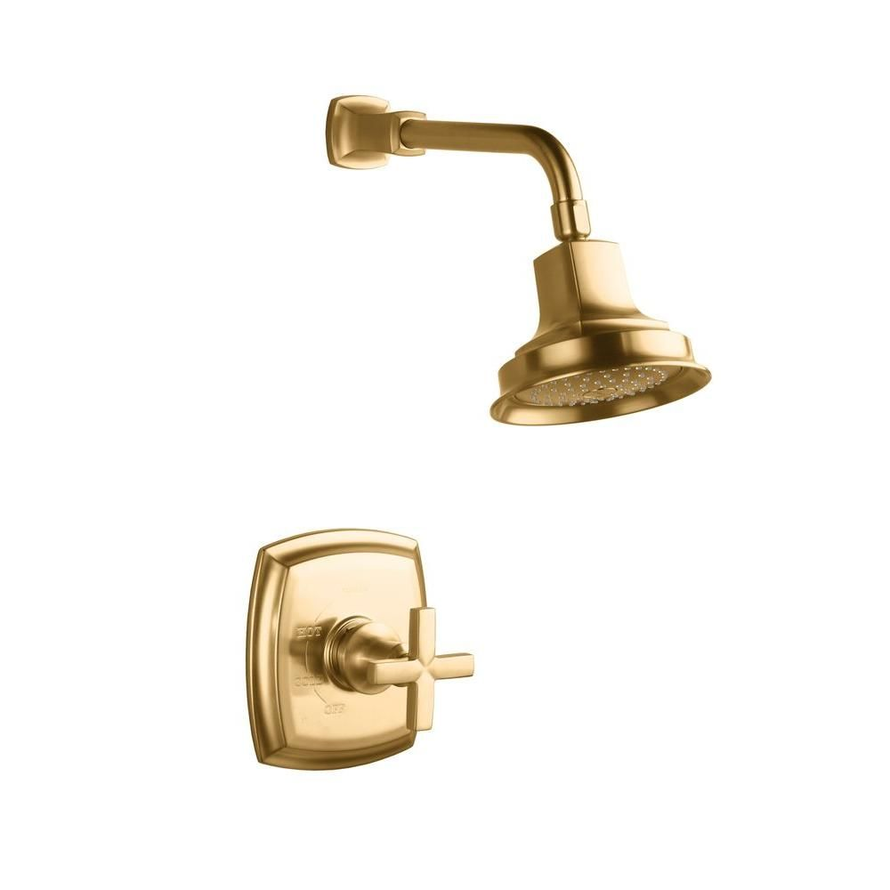 KOHLER Margaux Rite-Temp Pressure-Balancing Shower Faucet Trim with ...
