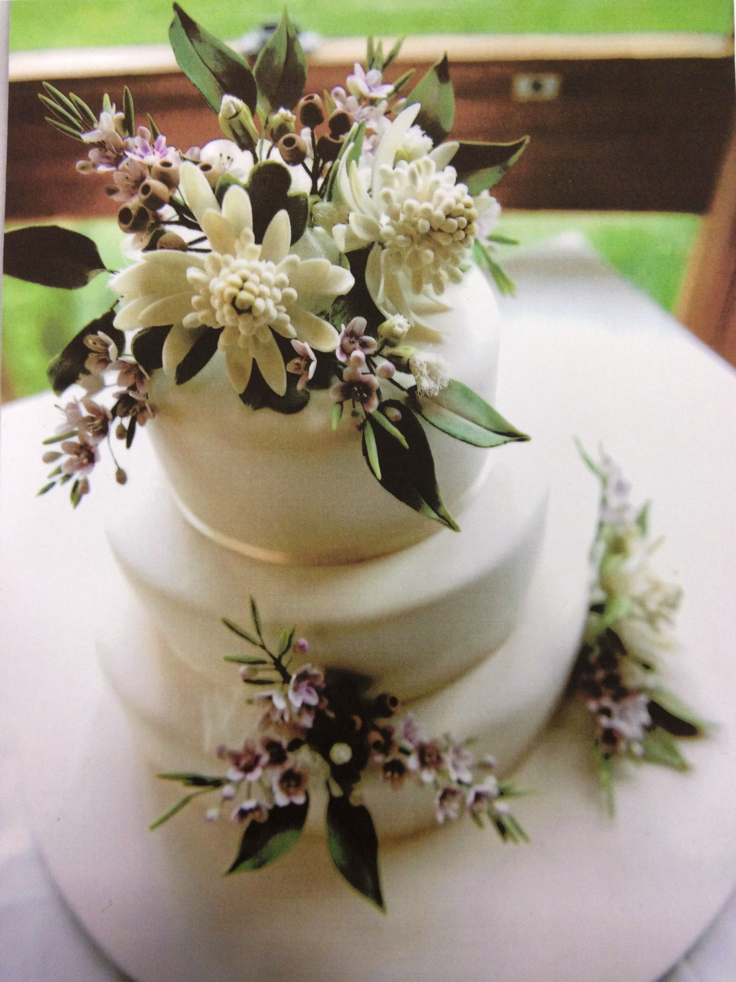 Australian Native Flowers Wedding Cakes With Flowers Floral