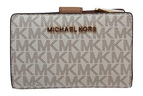 c2b7dc72af8d New Michael Kors Jet Set Travel PVC Signature Bifold Zip Coin Wallet  Clutch. Women Bag [$66.90 - 158.00]alltrendytop #michaelkorscreditcard