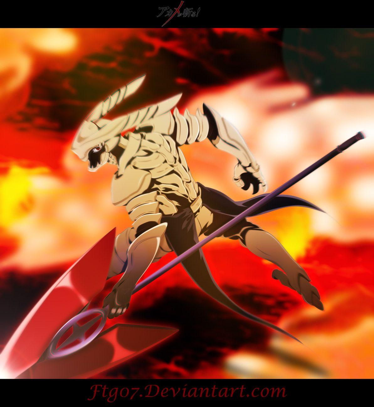 The Dangerous Evolved Incursio Akame Ga Akame Ga Kill Anime
