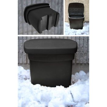 Salt and Sand Outdoor Storage Bin