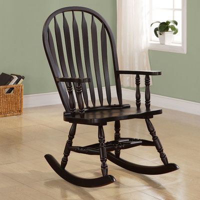 Indoor Wood Rocking Chair Traditional Rocking Chairs Wooden